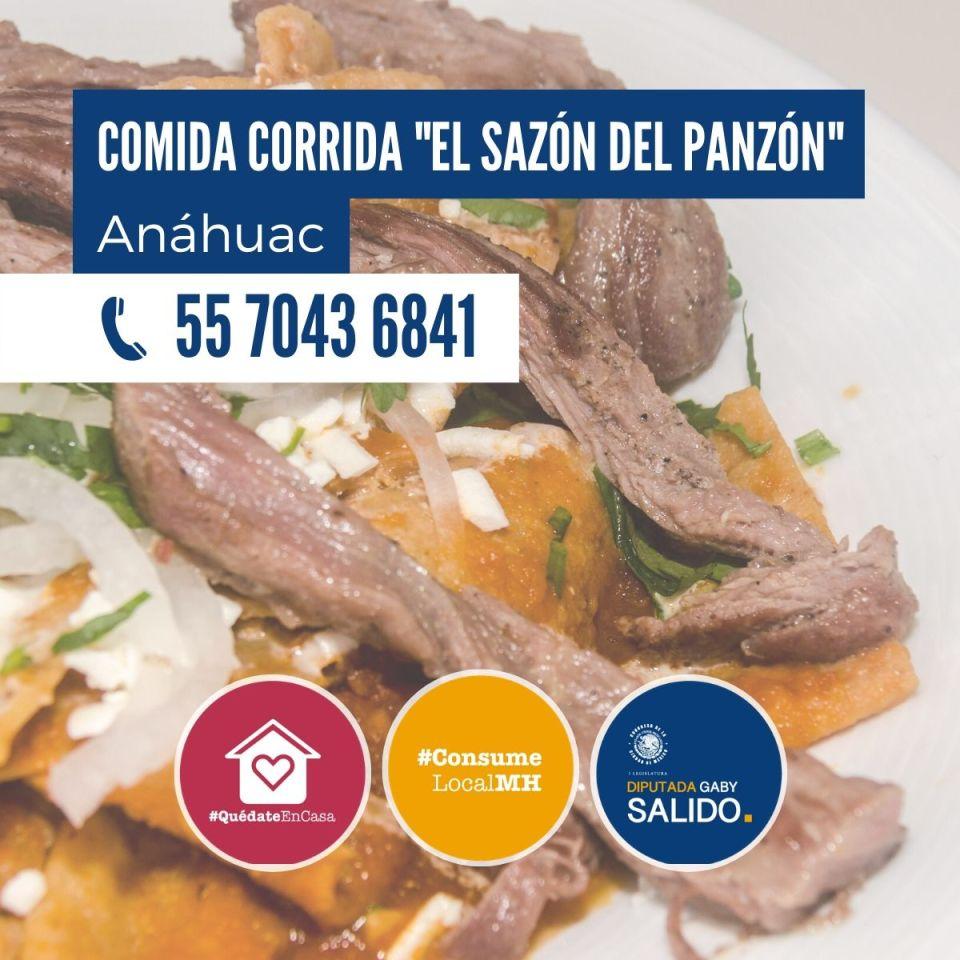 Comida corrida «El sazón del panzón»