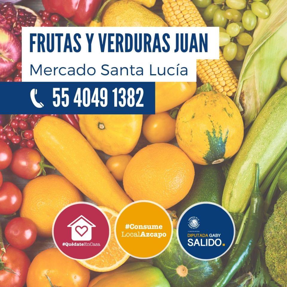 Frutas y verduras Juan