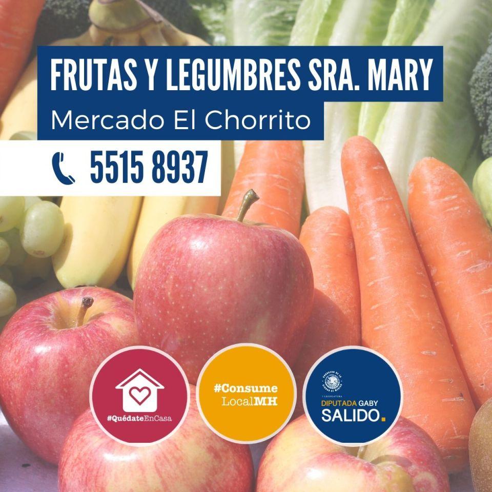 Frutas y legumbres Sra. Mary