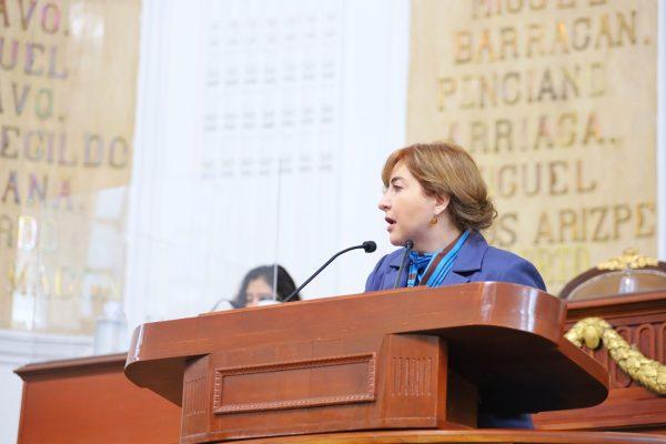 Dip. Gabriela Salido urge a Congreso CDMX paridad de género en la asignación de presidencias de comisiones