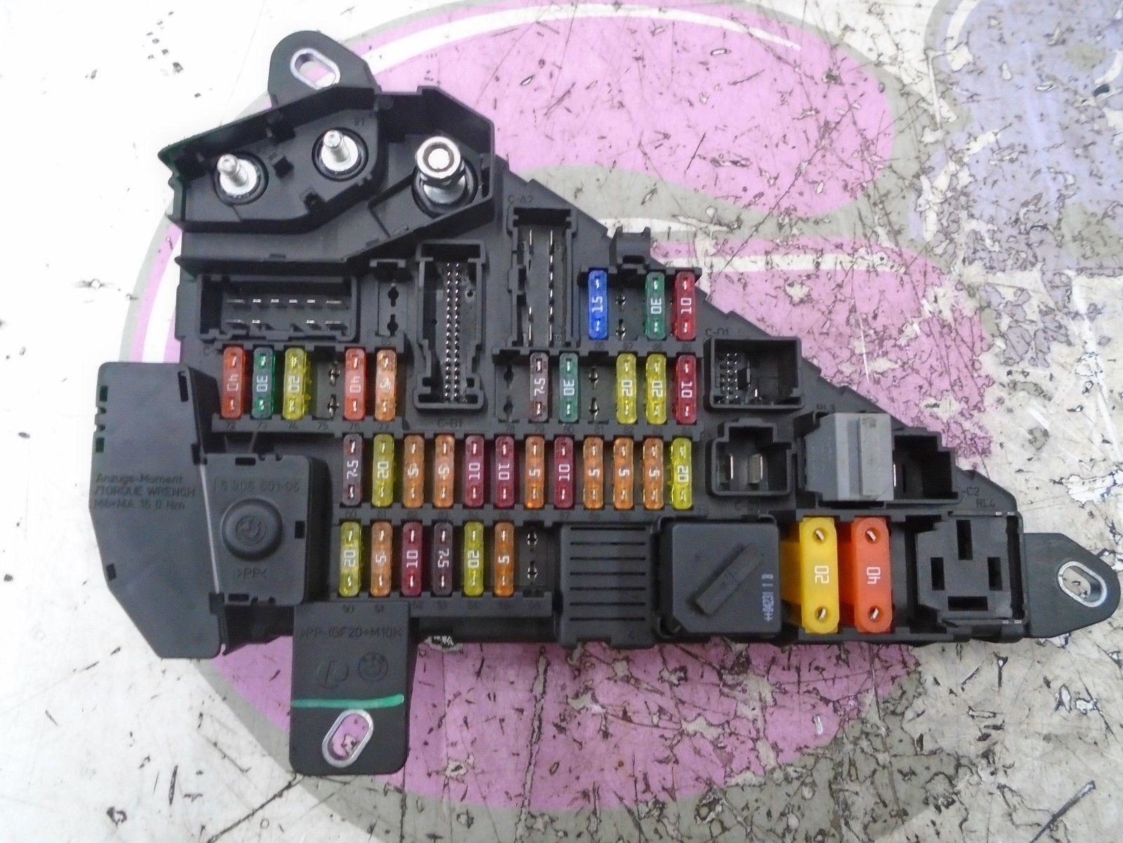 hight resolution of 2004 bmw 6 series e63 645ci 4 4petrol rear power distrubution fuse box 2003 2010