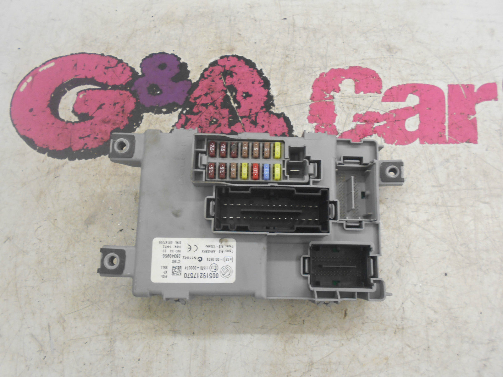 hight resolution of fiat doblo 1 4 16v petrol fuse box fuse board 2009 15