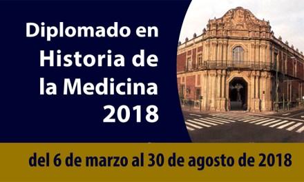 El Diplomado en Historia de la Medicina brinda una visión holística y humanista