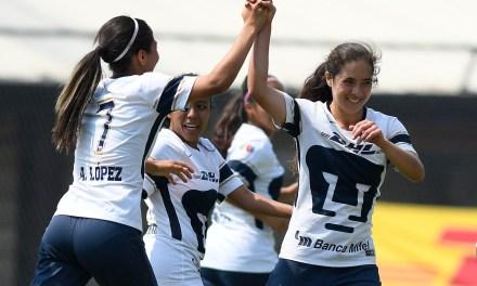 Pumas femenil, motivación y entrega para jugar al fútbol