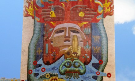 El mural de Francisco Eppens, ícono de la Facultad de Medicina