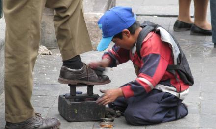 Erradicar el empleo infantil, la meta