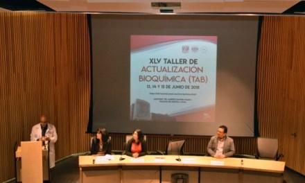 XLV Taller de Actualización Bioquímica