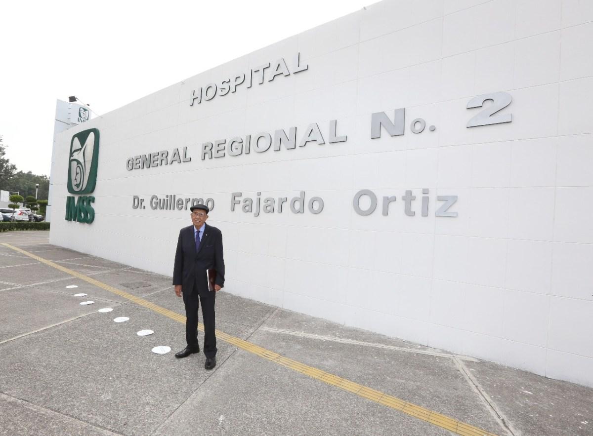 El Hospital General Regional número 2 recibe el nombre del doctor Guillermo Fajardo Ortiz