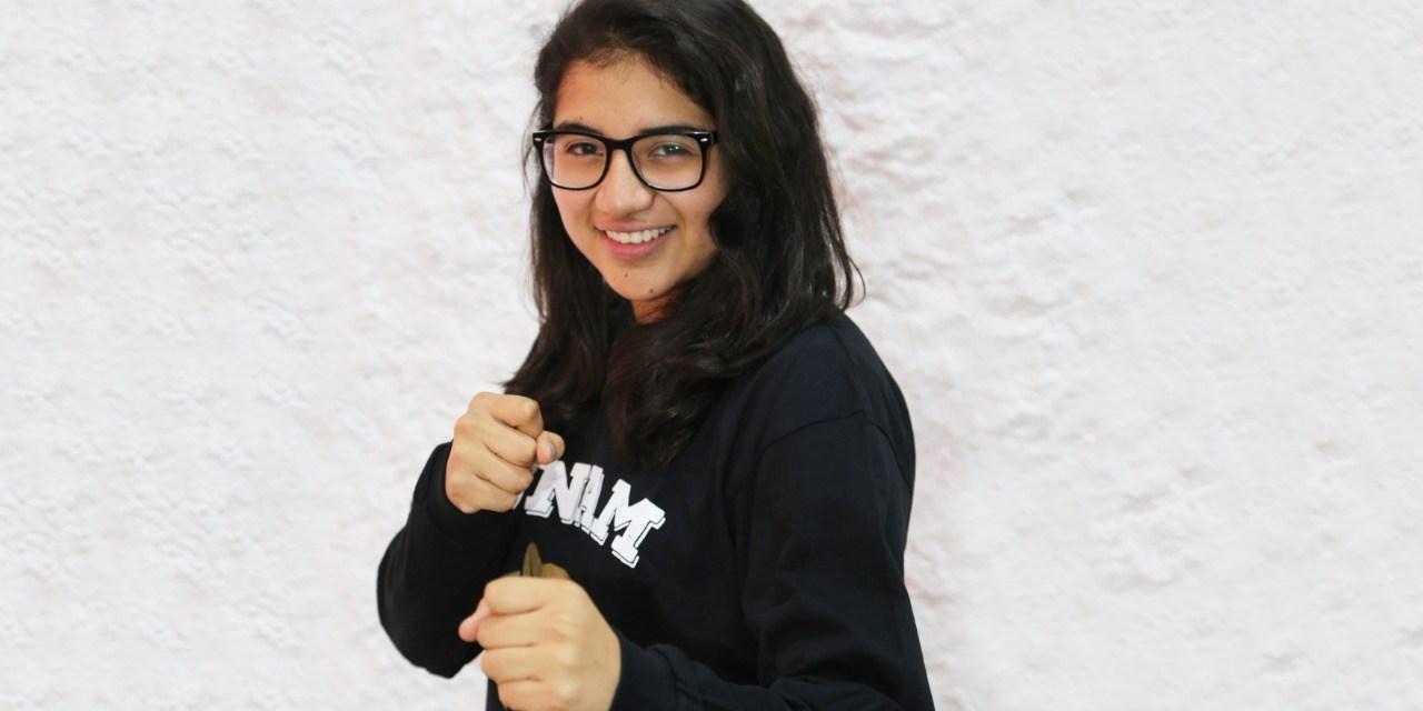 Sarai Jiménez, lista para ganar otra medalla en taekwondo