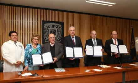 La Facultad de Medicina y la AMELAF firman convenio para desarrollar medicamentos