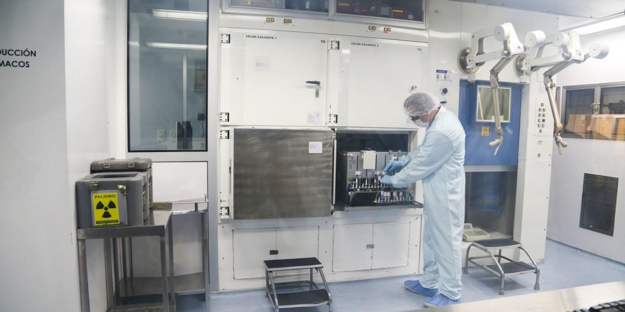Nuevo módulo hace más  eficiente producción de  radiofármacos para uso  neurológico y oncológico