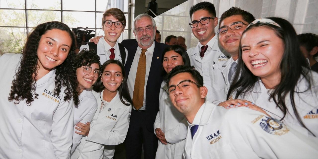 El doctor Enrique Graue es nombrado rector para un segundo periodo