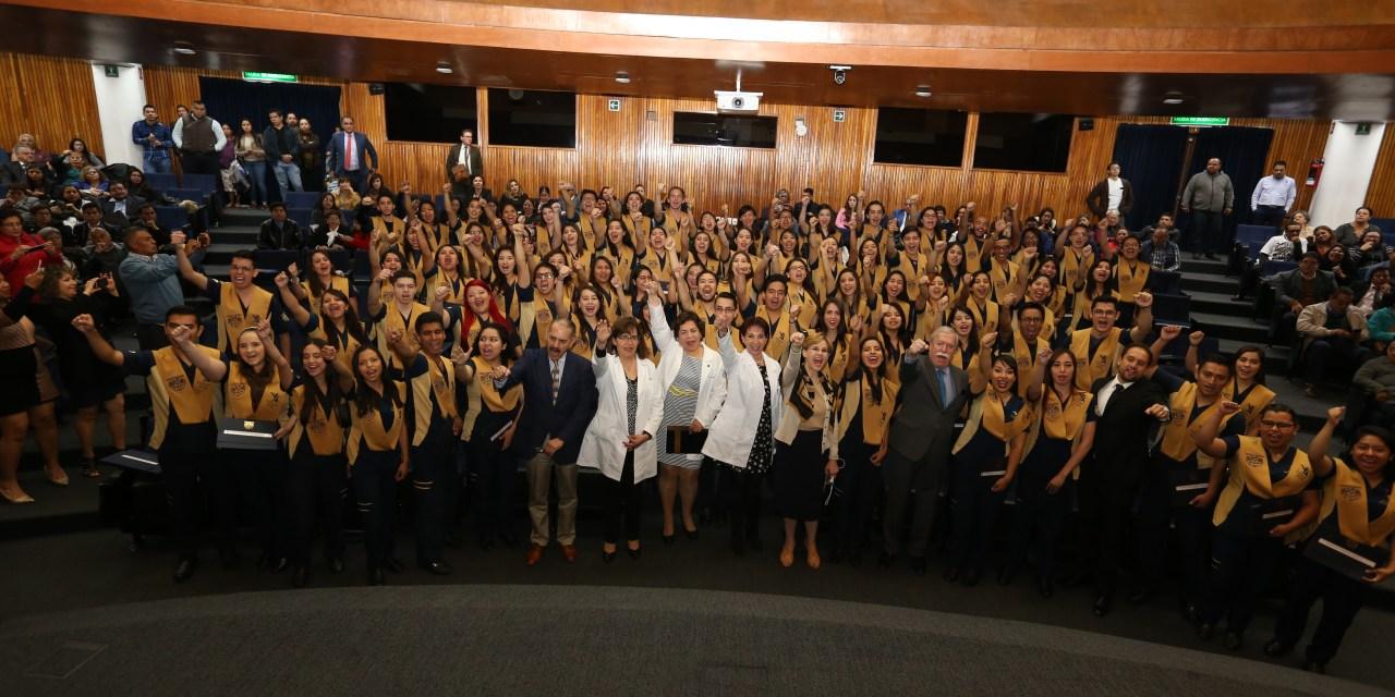 Nuevos 87 fisioterapeutas al servicio de México