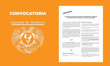 Convocatoria para elegir personas  orientadoras Académicas y Administrativas en contra de la violencia de género