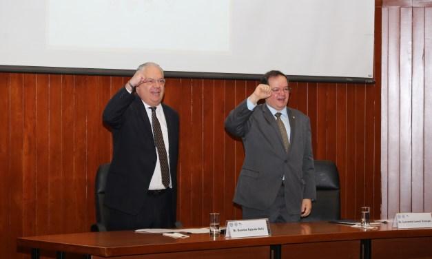 El doctor Germán Fajardo tomó posesión como director de la Facultad de Medicina