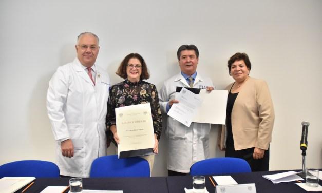 El doctor Armando Ortiz Montalvo es nombrado secretario de Educación Médica