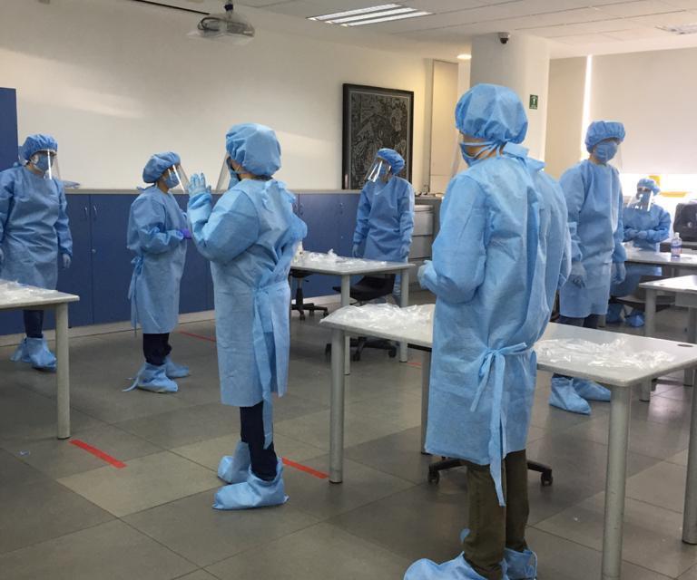 La Facultad de Medicina capacita a sus internos sobre COVID-19