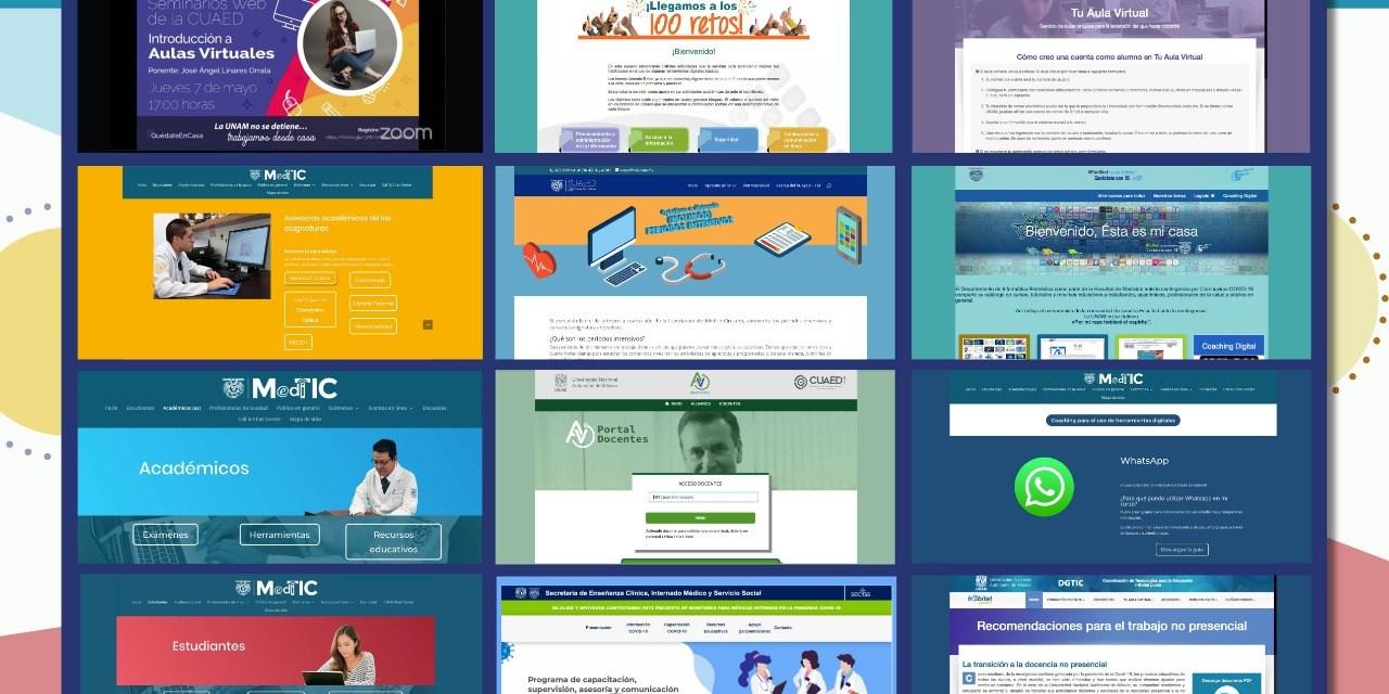 Recursos digitales para académicos y alumnos