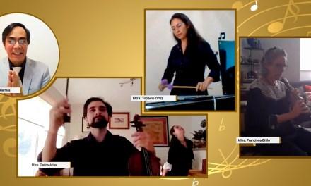Concierto virtual con maestros de la Orquesta Sinfónica de Minería