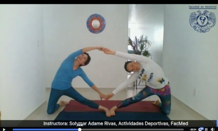 ¡Motívate! La FacMed te invita a  clases de yoga