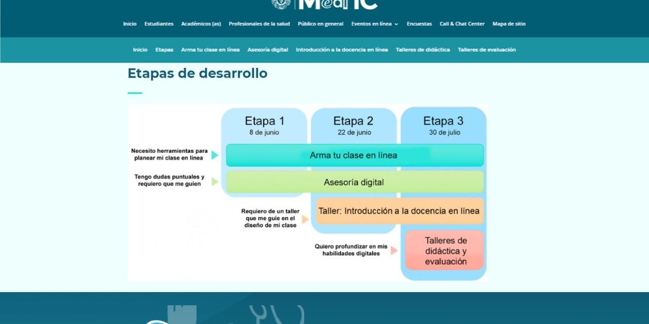 """Comienza tercera etapa de la iniciativa """"Hacia la docencia en línea"""""""