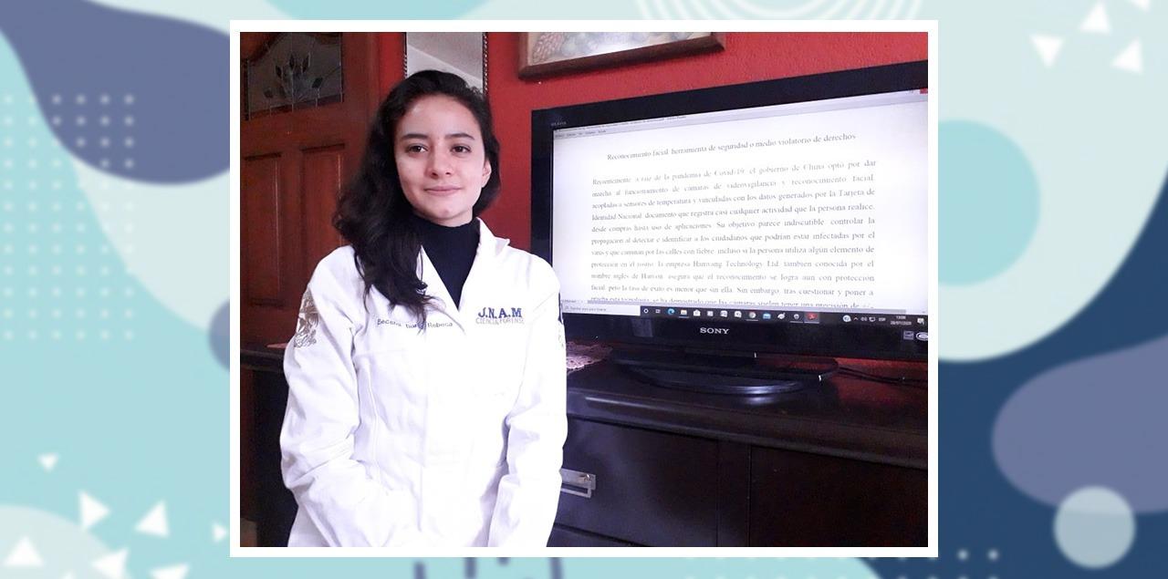 Rebeca Becerril gana tercer lugar en concurso de ensayo del INACIPE