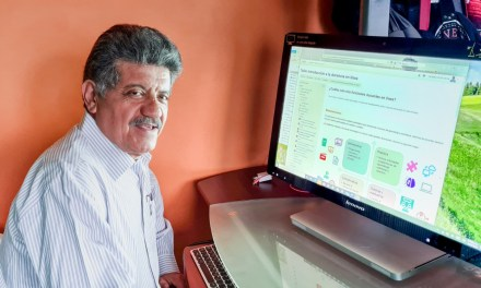 Experiencias del profesorado con la iniciativa Hacia la docencia en línea