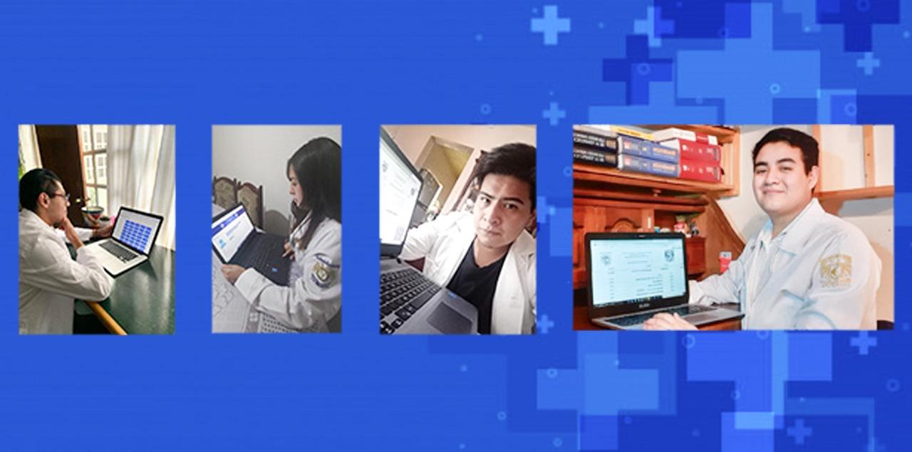 Más de mil 400 alumnos se inscribieron de manera virtual a sedes clínicas
