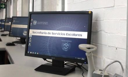 La Secretaría de Servicios Escolares desarrolla sistemas para realizar trámites virtuales