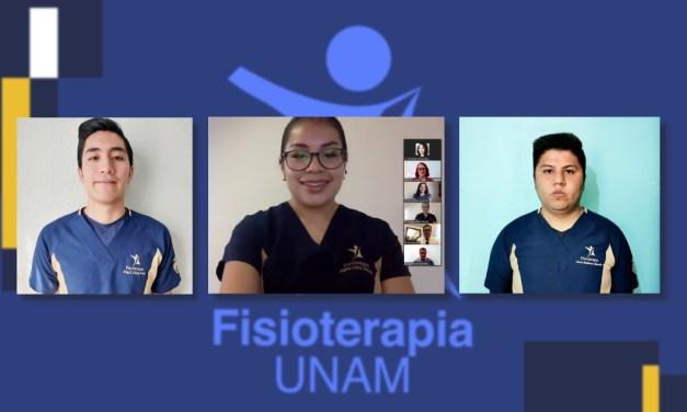 Fisioterapia otorga mención honorífica a alumnos destacados