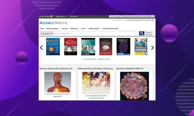 Access Medicina ya forma parte de las colecciones de la Biblioteca Médica Digital