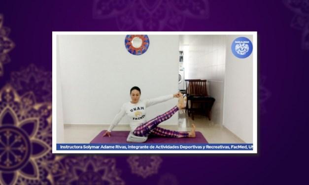 La Facultad de Medicina se activa en el Día Internacional del Yoga