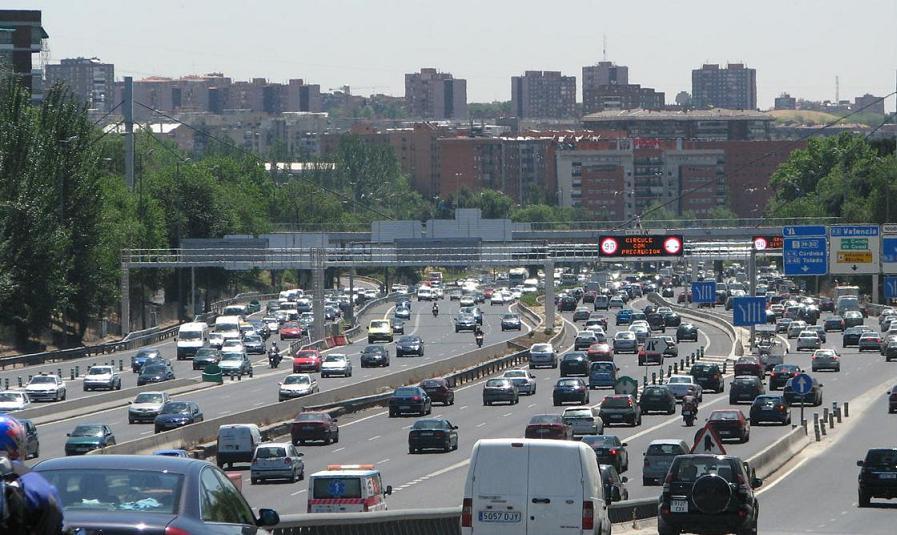La M-30 sufrirá esta noche de jueves a viernes cortes al tráfico en Arganzuela, Usera y Ciudad Lineal