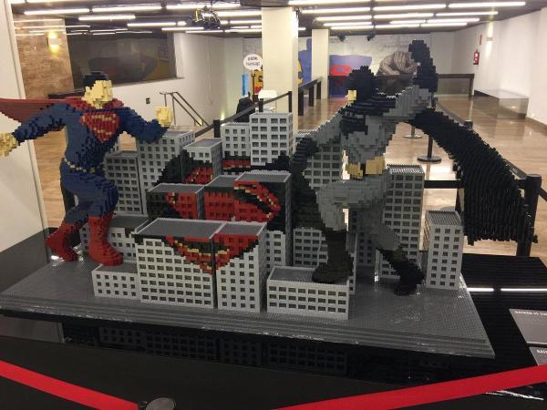 """La Exposici De Lego """" Art Of Brick Dc Super"""