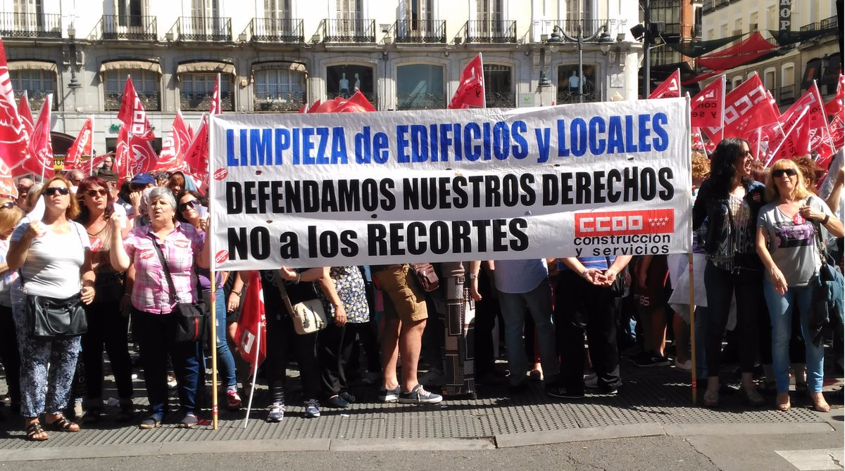 Firmado el convenio de Limpieza de Edificios y Locales de la Comunidad de Madrid