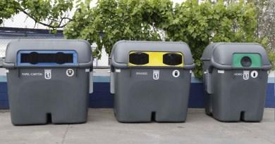 La recogida de papel y cartón en Madrid aumenta un 30%, la del vidrio un 9% y la de envases un 12%