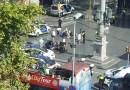 13 muertos y 50 heridos tras un atropello terrorista con una furgoneta en Barcelona