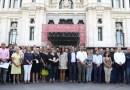Madrid se solidariza con las víctimas del atentado de Barcelona con un minuto de silencio