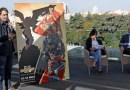 """Superman, Batman y Wonder Woman escalan el madrileño edificio de """"Metropolis"""""""