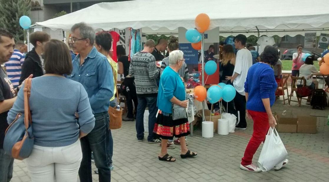 Llega al distrito de Fuencarral-El Pardo la Feria de Entidades, hasta el 1 de octubre