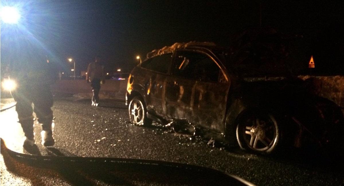 4 heridos esta madrugada en un accidente de tráfico en la A-42, entre Carabanchel y Orcasitas