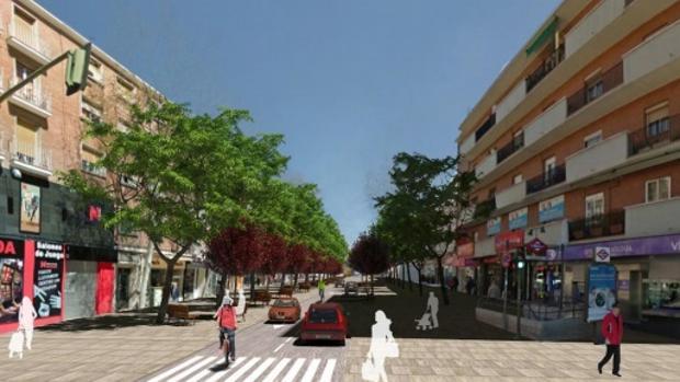 El Ayuntamiento de Madrid explicará este lunes a vecinos y comerciantes la reforma de la calle Alcalá