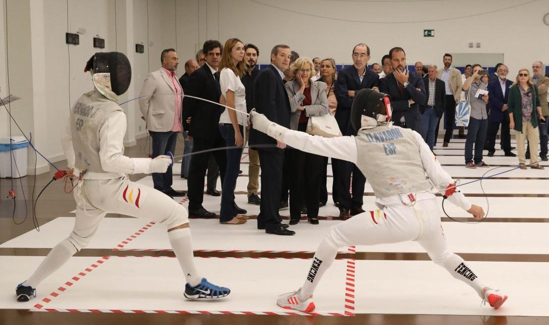 La ciudad de Madrid estrena su primera sala municipal de esgrima en Chamberí
