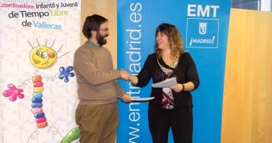 La EMT colaborará con la Coordinadora Infantil y Juvenil de Tiempo Libre de Vallecas