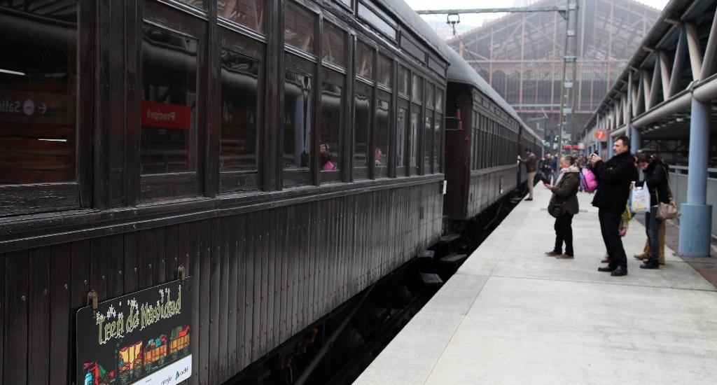 "Vuelve a Madrid el tradicional ""Tren de Navidad"", del 26 de diciembre al 5 de enero"