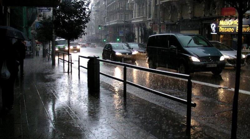 Las previsiones de lluvia pronostican un lunes 11 de diciembre complicado de cara al tráfico
