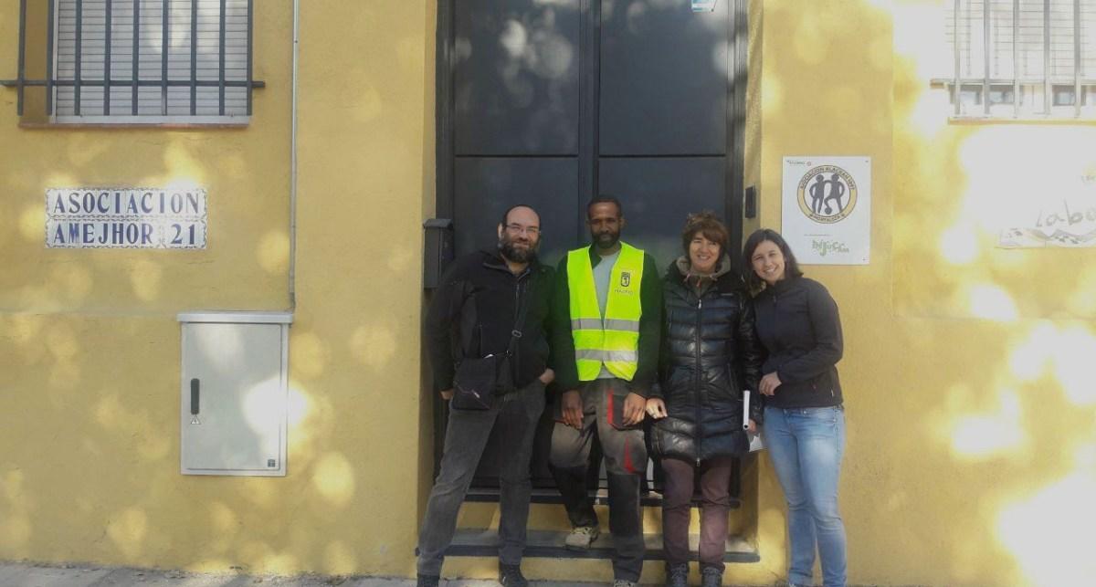 El edificio de Mar Amarillo de Hortaleza volverá a acoger jóvenes sin recursos tras un año de rehabilitación