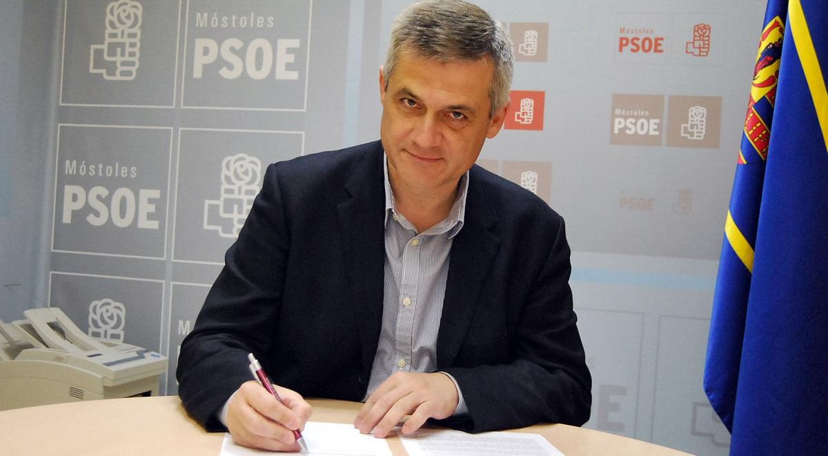 """El socialista David Lucas dimite como Alcalde de Móstoles por """"motivos personales"""""""