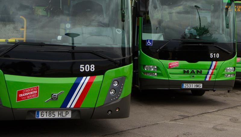 """UGT, CCOO y SLT convocan 20 dias de huelga en el transporte de viajeros de Madrid """"contra la precarización del sector"""""""