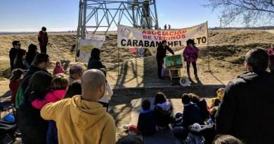 Decenas de vecinos de Carabanchel Alto reclaman la construcción del Parque Manolito Gafotas